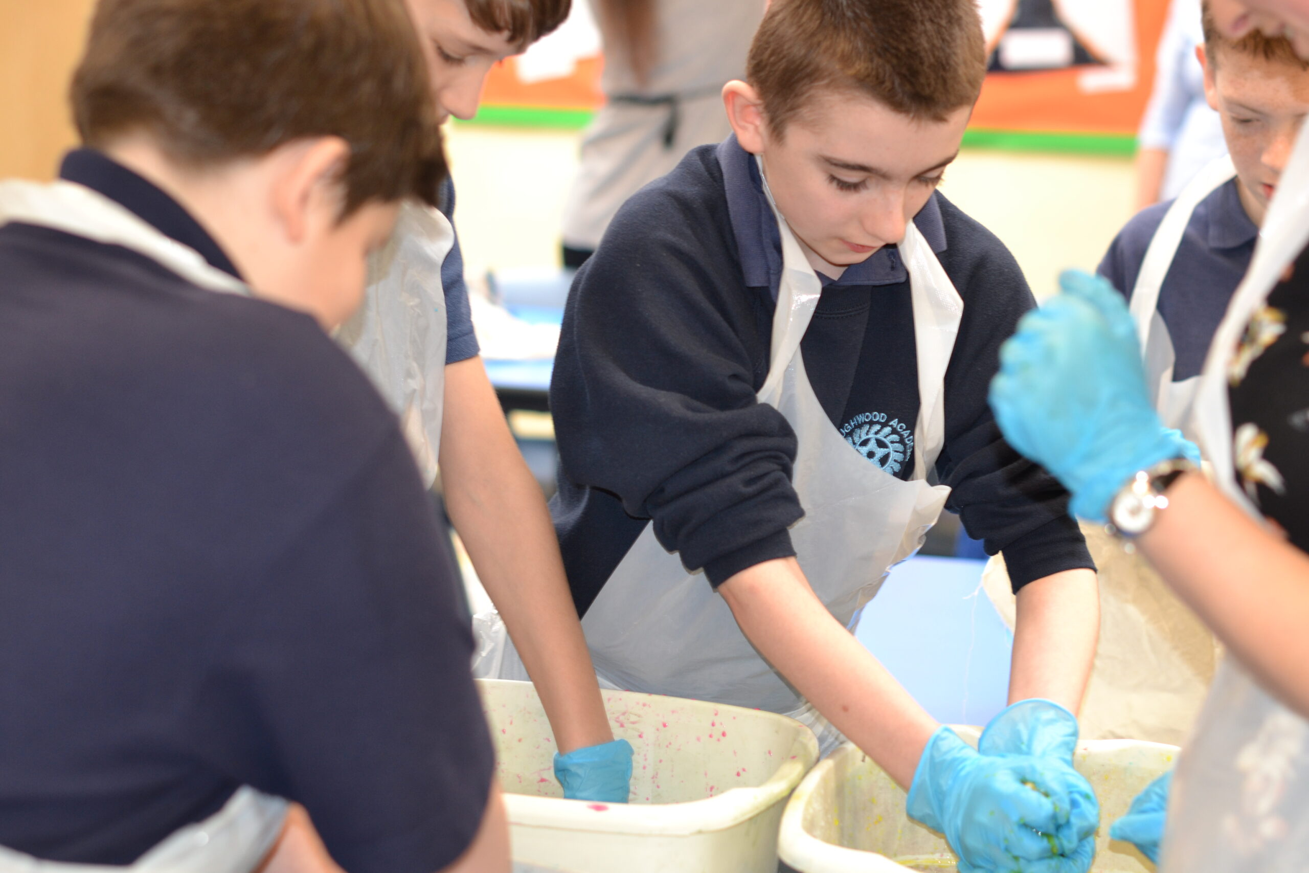 Edgehill PGCE Students visit Cloughwood Academy for Art Day!