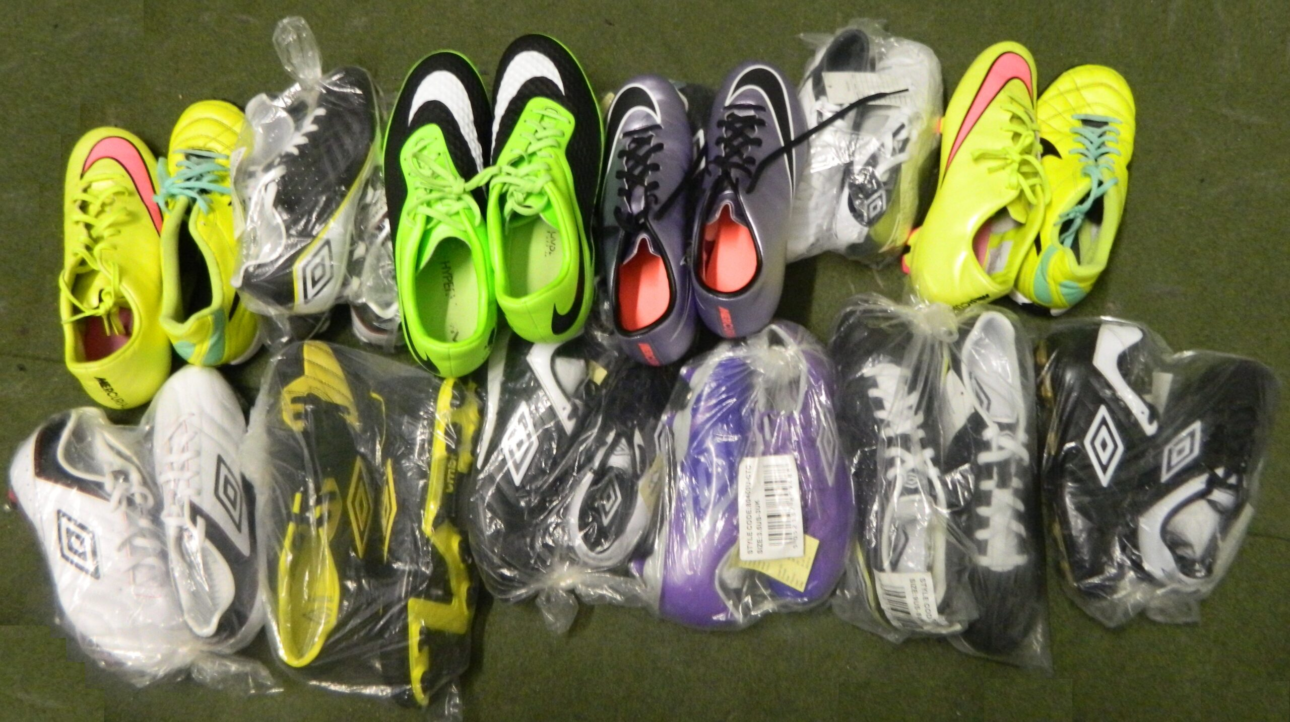 Thanks for the football boots!!!