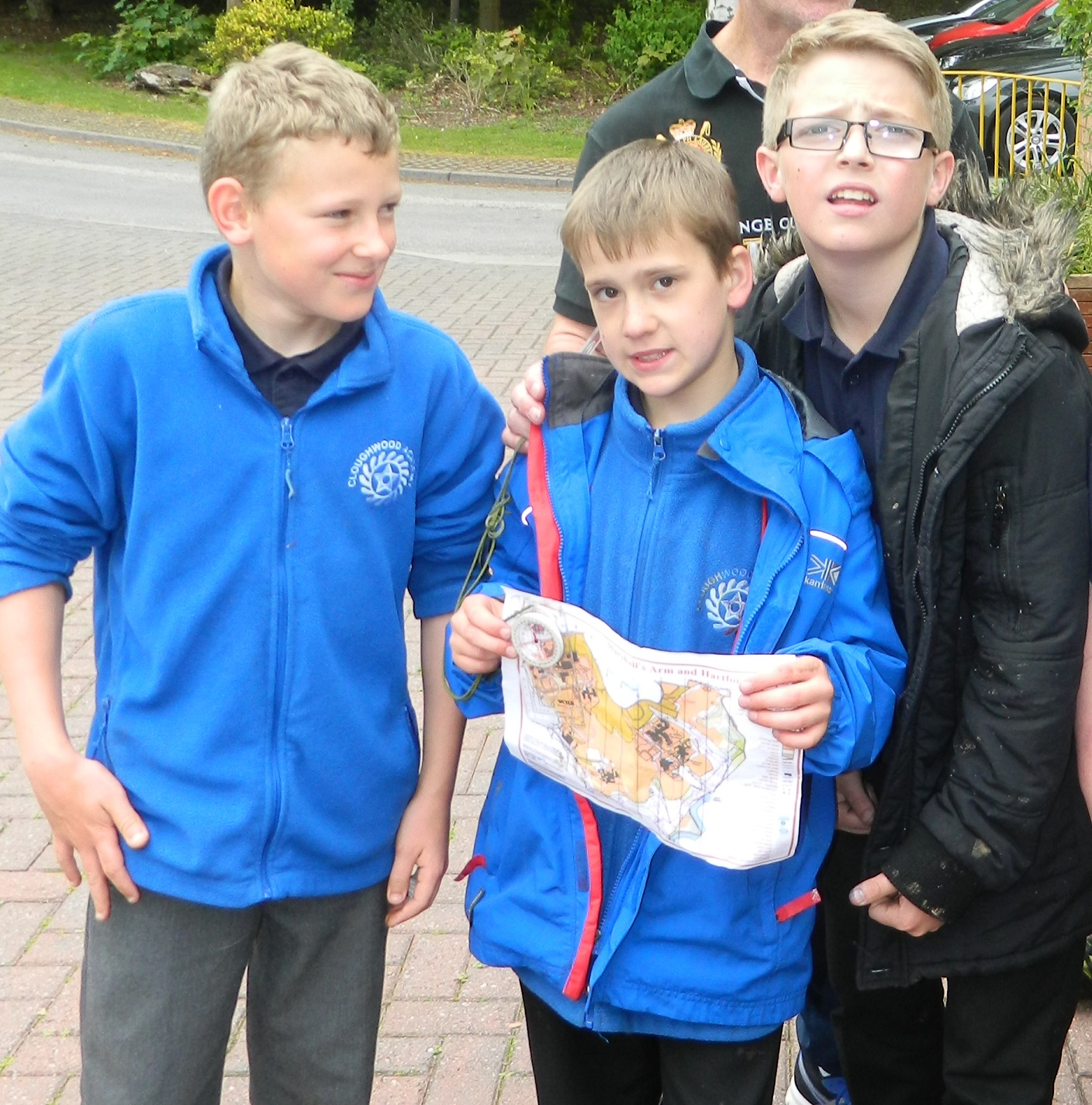 Year 7 Humanities class try their hand at orienteering