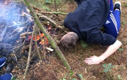 Duke of Edinburgh pupils go back to basics
