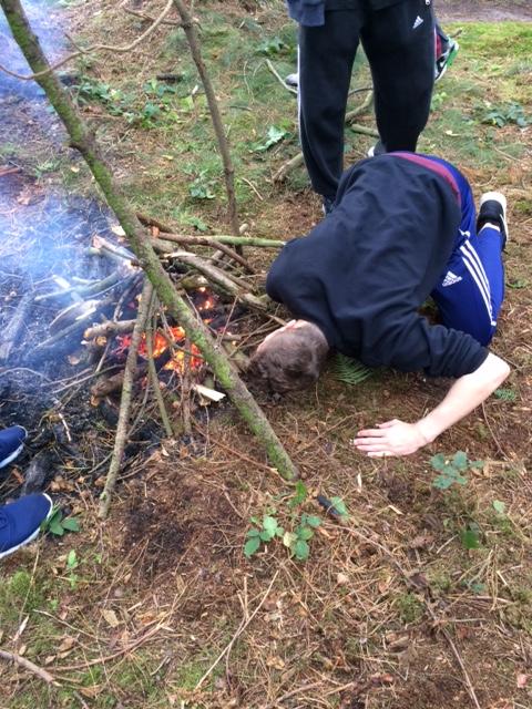 Duke of Edinburgh pupils go back to basics