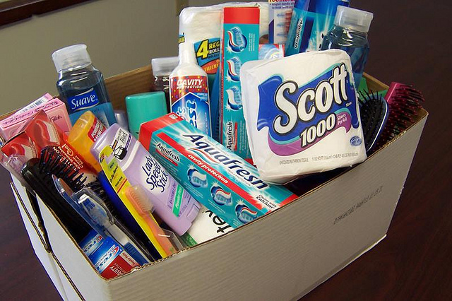 Mid Cheshire Food Bank – toiletries