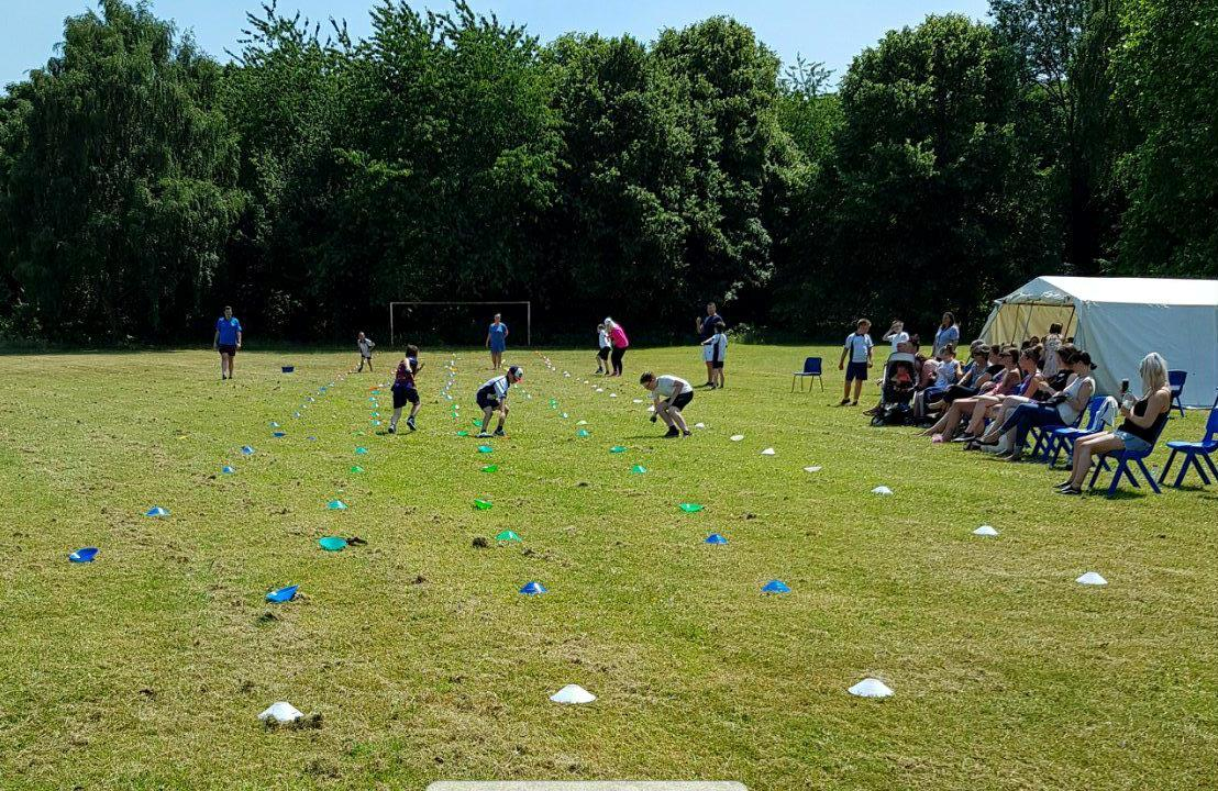 Primary sports day is a scorcher!