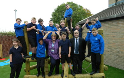 Cloughwood's Brilliant KS2 Playground Development