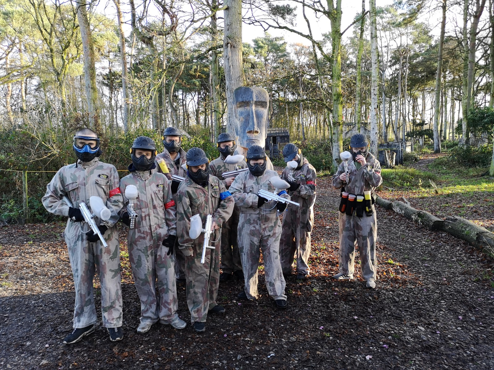 Paintball – The tale of 'The Ghost', 'Stealth' and 'The Sniper'