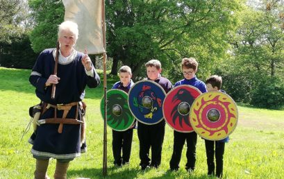 Exploring the world of Vikings at Tatton Park