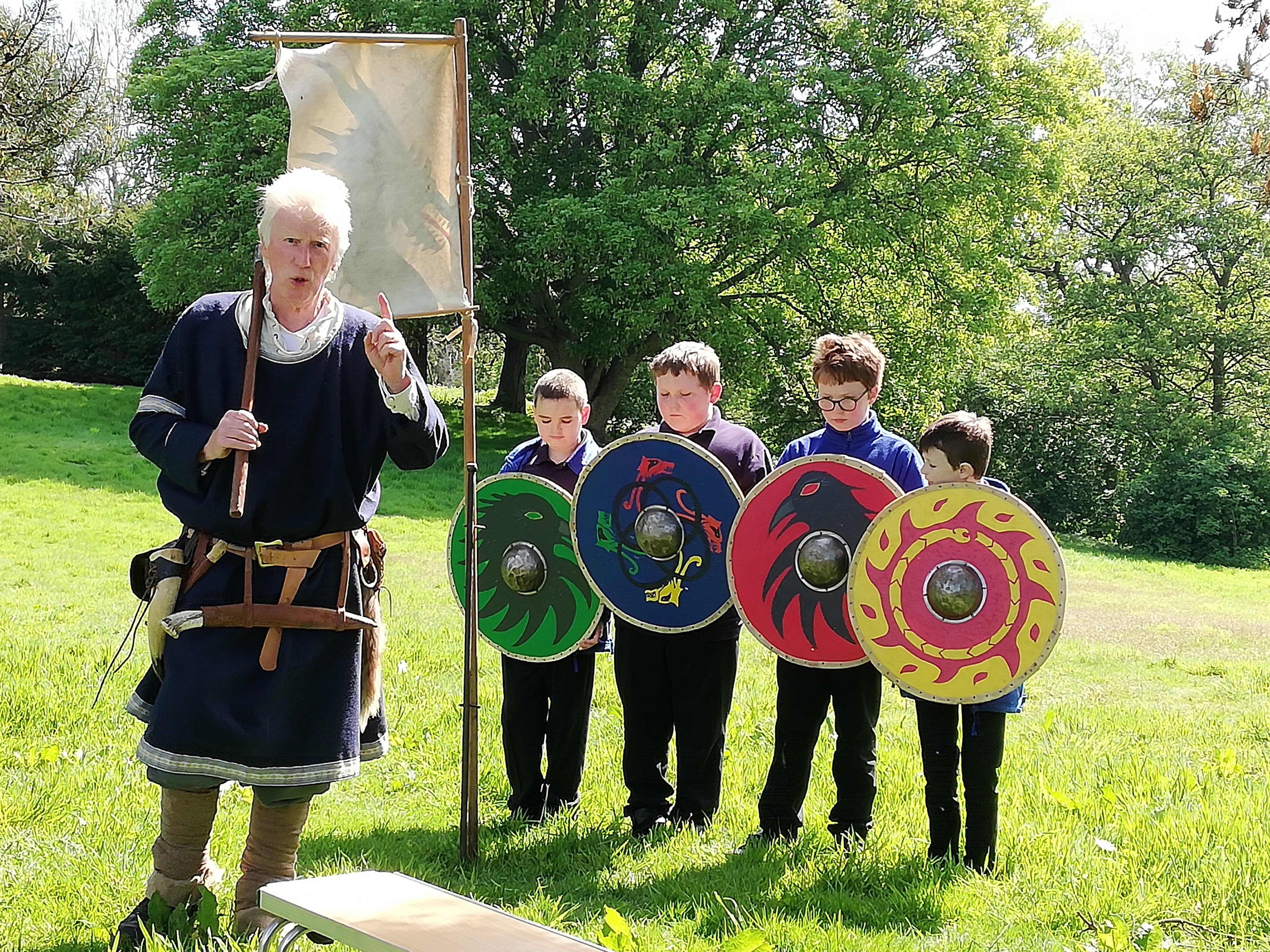 Exploring the world of Vikings at Tatton Park