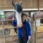 Student Reward Time At Cotebrook Shire Horse Centre