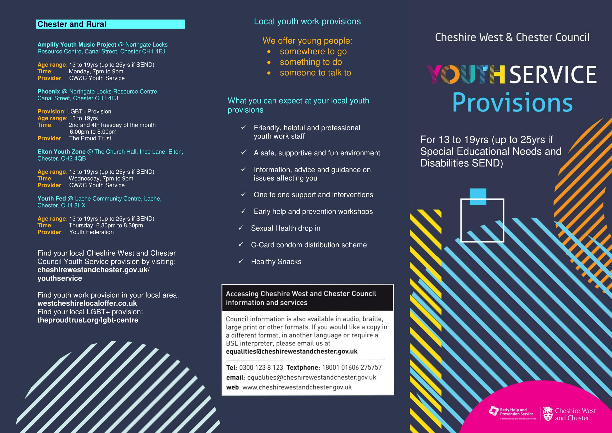 Youth Service Provisions
