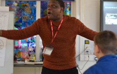 Art Workshop with Adebanji Alade