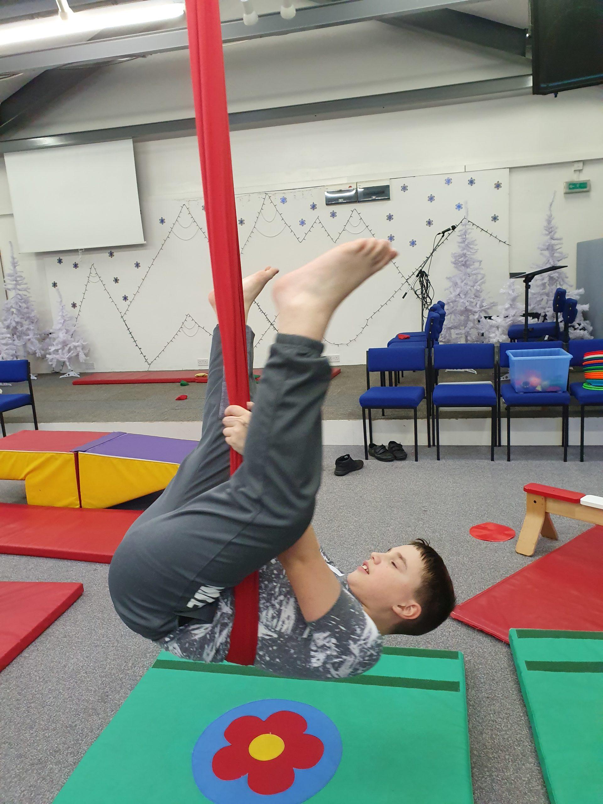 Acrobatic Skills!