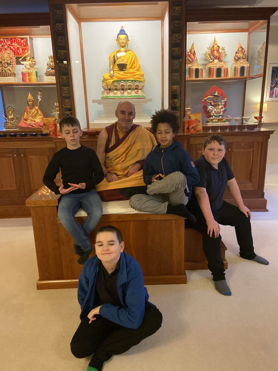 Residential Trip to a Buddhist Meditation Centre