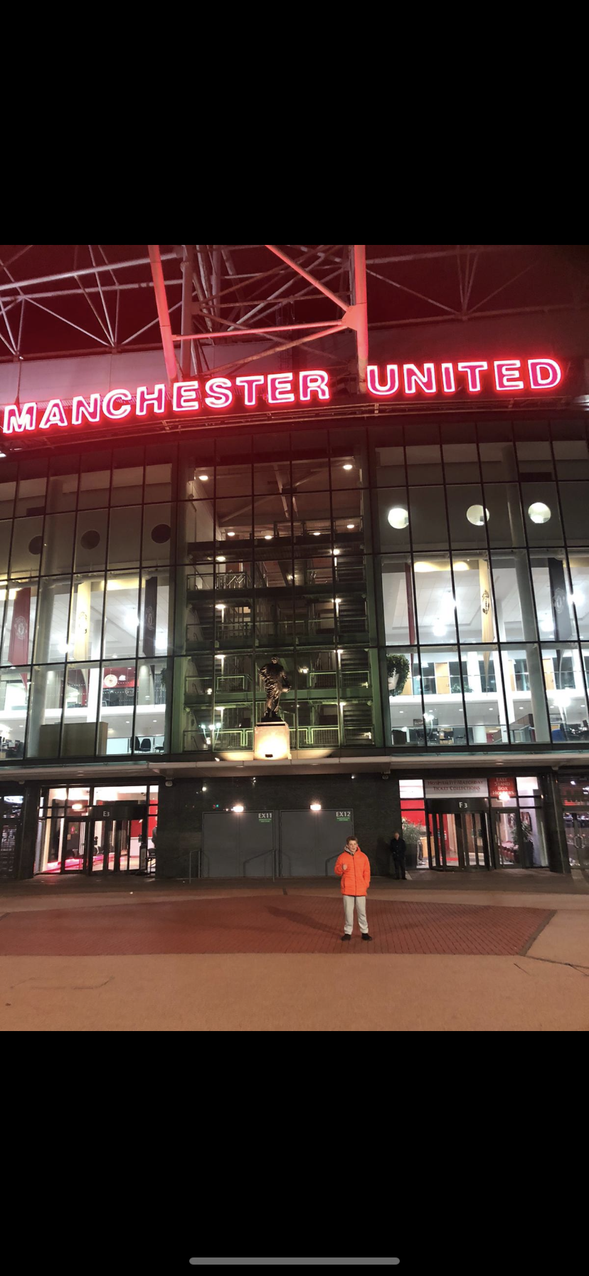 Residential Trip to Old Trafford
