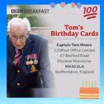Birthday Cards for Captain Tom