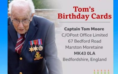 Birthday Cards for Captain Tom